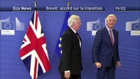 Brexit: accord sur la transition 19/03/18