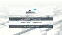 Buy & Sell: Materialise 18/04/18