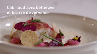 Z-Masterclass 2019: Cabillaud avec betterave et beurre blanc du chef David Grosdent (L'Envie)