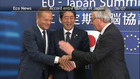 Accord entre l'Europe et le Japon 06/07/17